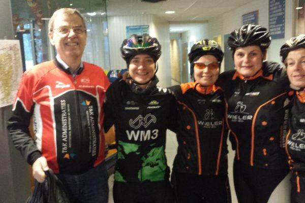 Marianne Vos en de bike ladies