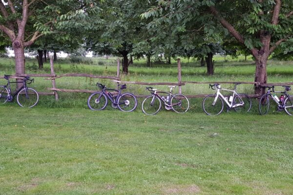 fietsen in ruste